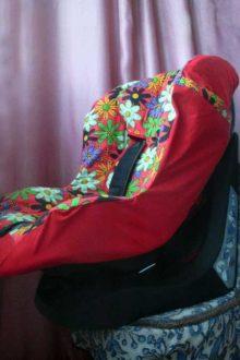 летний чехол на авто-кресло chicco фото сбоку