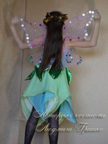 костюм феи винкс вид со спины фото