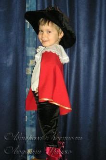фото костюм кот в сапогах для мальчика