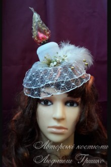 свеча шляпка с вуалью карнавальный аксессуар фото 456