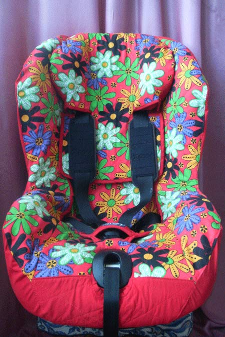 чехол из хлопка на детское авто кресло фото