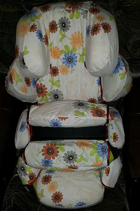 летний чехол на авто кресло Kiddy фото