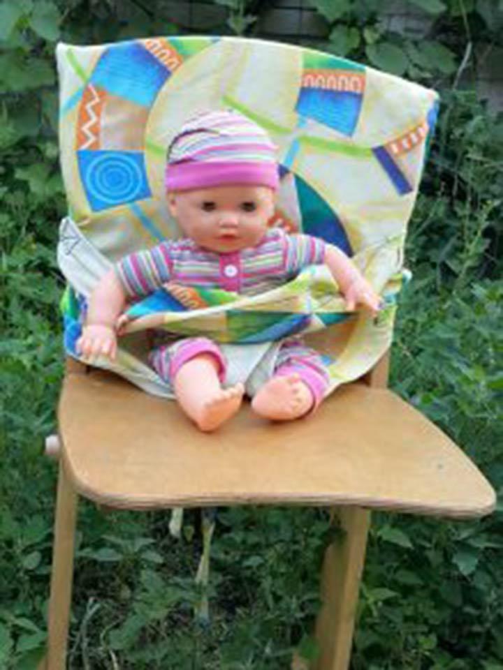 мобильный стульчик для кормления фото