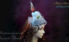 свеча шляпка с вуалью фото