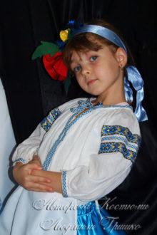 костюм украиночки для девочки на праздник осени фото