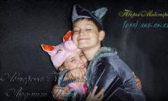 волк и поросенок фото карнавальных детских костюмов