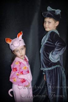 волк и поросенок фото детских костюмов