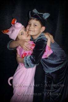 волк и поросенок фото костюмов на хеллоуин