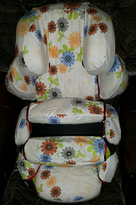фото чехол на автокресло kiddy со столиком безопасности