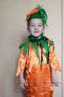 костюм морковки для девочки фото