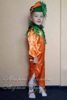 фото костюма морковки на праздник урожая для девочки