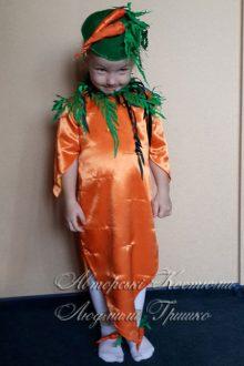 карнавальный костюм морковки фото