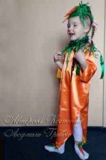 костюм морковки фото вид сбоку