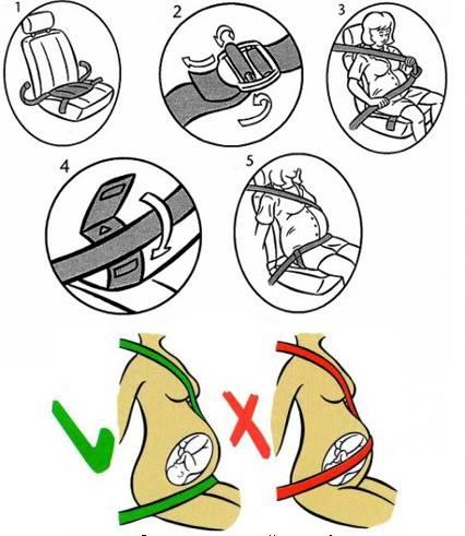 ремень-безопасности-для-беременных фото
