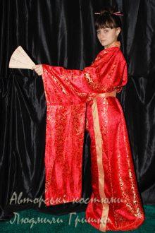 кимоно фото вид сбоку
