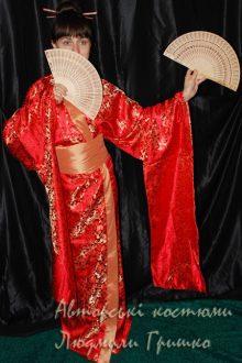 кимоно фото японского наряда