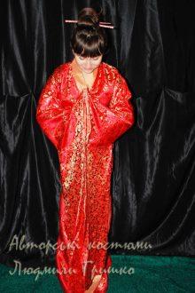 кимоно фото карнавальной женской одежды