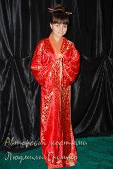 кимоно фото карнавального наряда