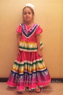 фото мексиканский костюм для девочки