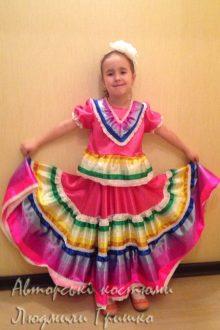 мексиканский костюм фото детского костюма