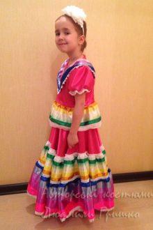 мексиканский костюм фото вид сбоку