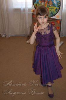 нарядное платье на выпускной утренник фото