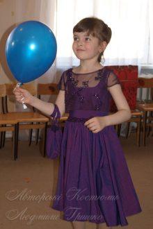 ексклюзивное нарядное платье для девочки фото