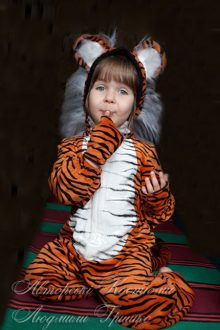 костюм тигренка на новый год фото