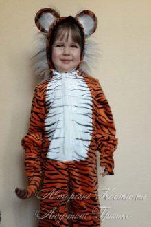 детский авторский костюм тигренка фото