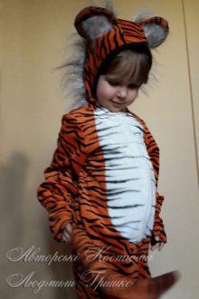 костюм тигренка для девочки фото