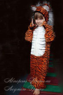 авторский карнавальный костюм тигренка фото