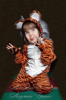 костюм тигренка фото детского костюма