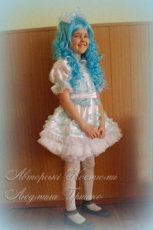 карнавальный костюм Мальвины фото