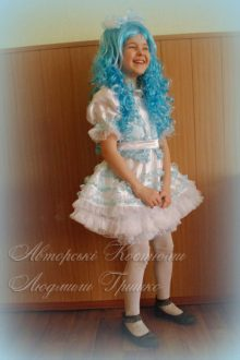 костюм Мальвины фото к сказке Буратино