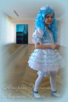 костюм Мальвины фото в школе