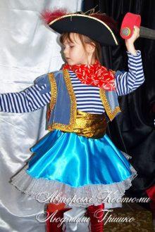 фото детский костюм пиратки на halloween