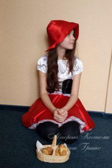 авторский карнавальный костюм красная шапочка фото