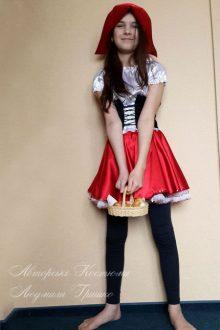 костюм красная шапочка фото с корзинкой