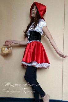 фото костюма красной шапочки для девочки