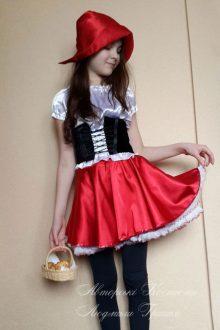 авторский костюм красная шапочка фото