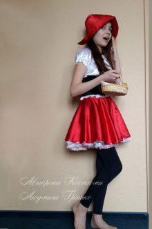 новогодний костюм красной шапочки фото