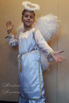 фото костюм ангел мальчик на Рождество