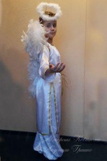 фото авторского детского карнавального костюма ангел мальчик