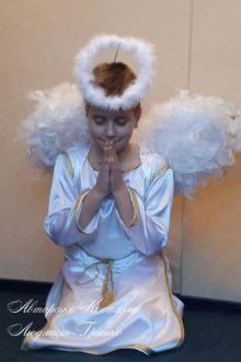 фото детский костюм ангел мальчик