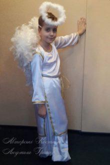 фото костюм ангел мальчик на новый год