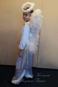 костюм ангел мальчик фото вид сбоку