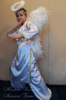 фото костюм ангел мальчик на halloween