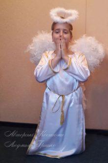 фото авторский карнавальный костюм ангел мальчик