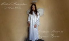 костюм ангел девочка фото