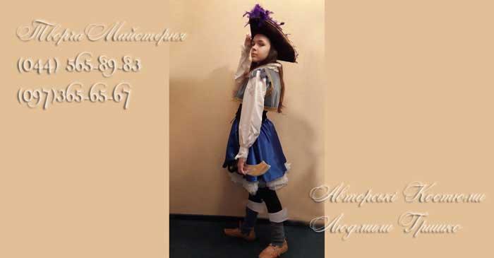 пиратский костюм для девочки фото